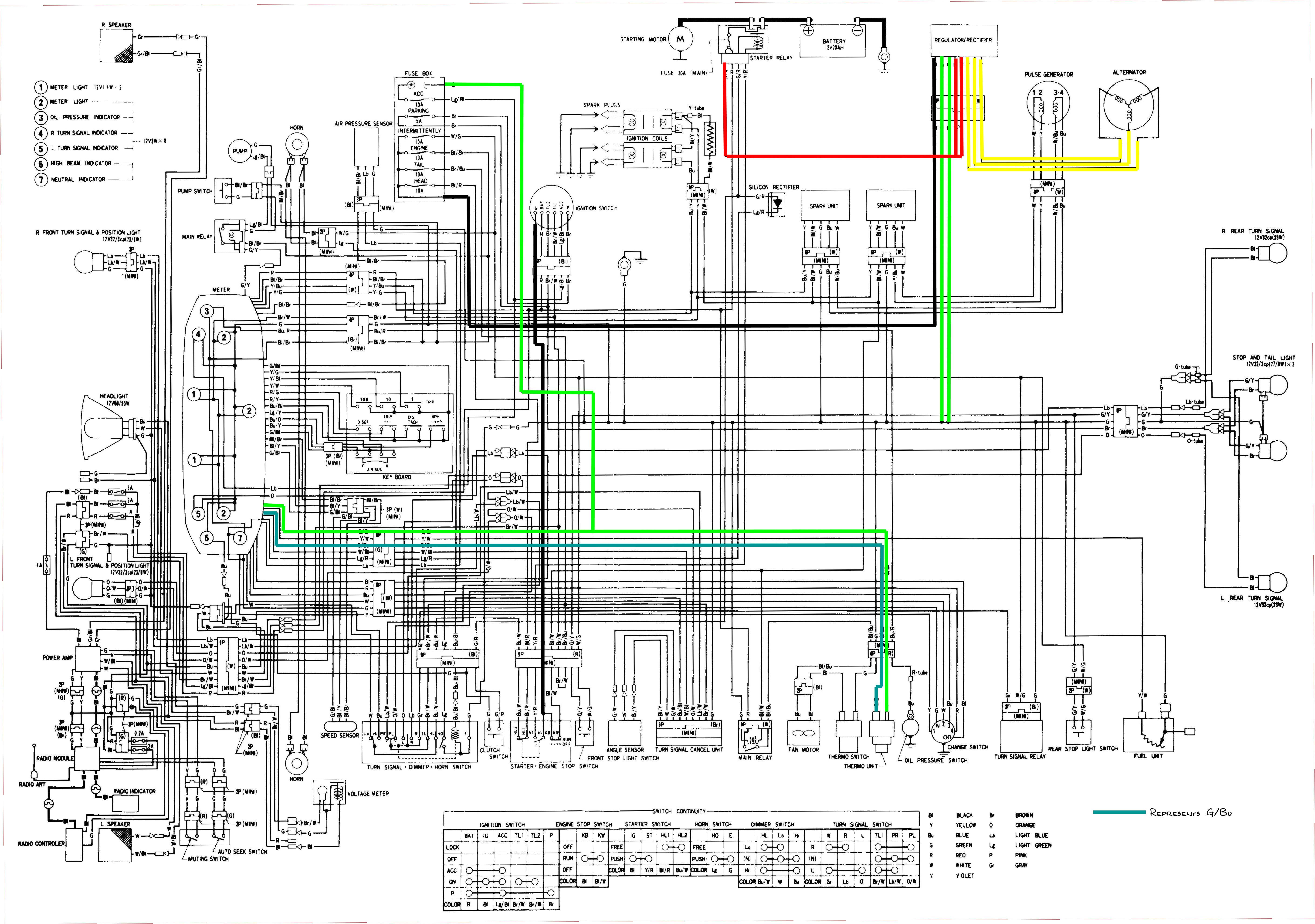 1987 honda rebel wiring diagram