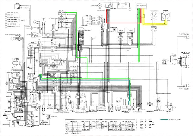1978 honda cb750 wiring diagram | hobbiesxstyle on honda 300 wiring  diagram, honda vtx wiring